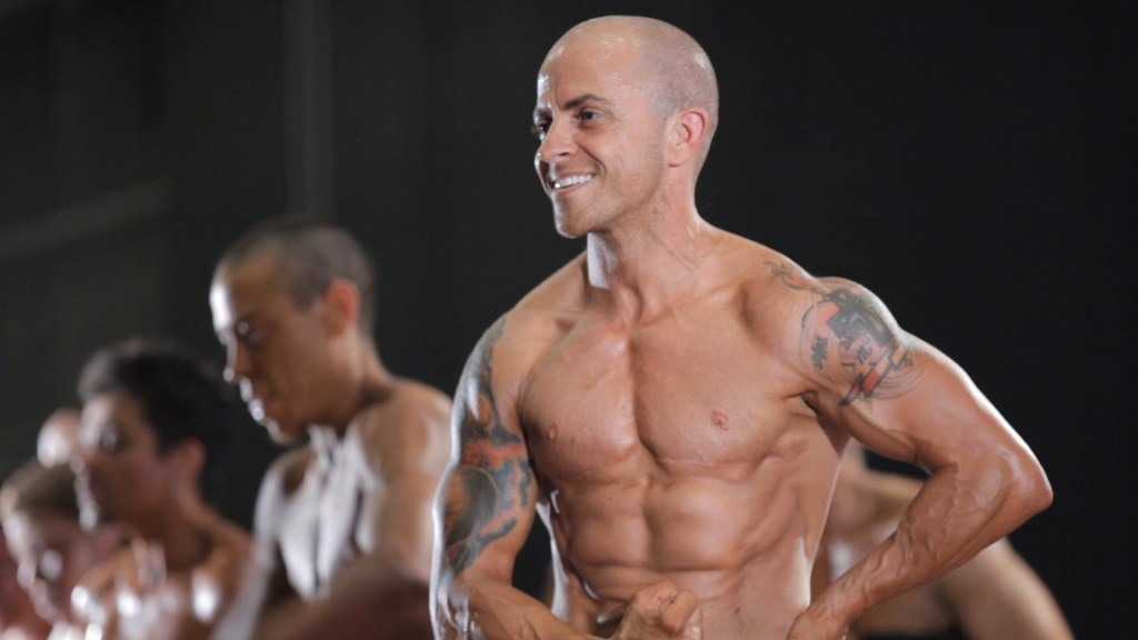 Mason, one of the featured bodybuilders in T Cooper's 'Man Made'