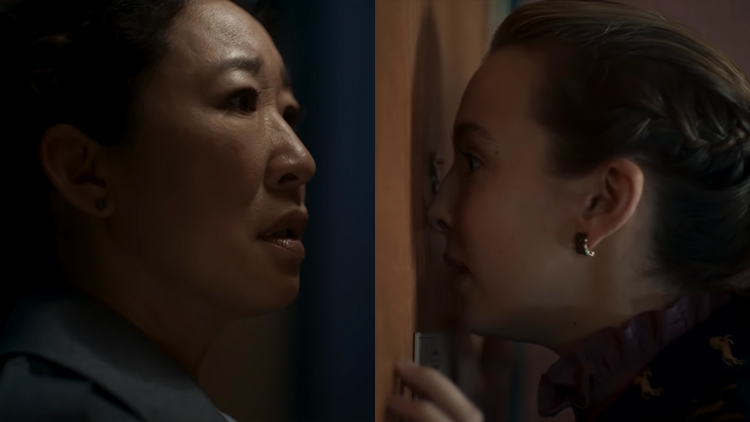 Sandra Oh and Jodie Comer in Killing Eve (BBC AMerica)
