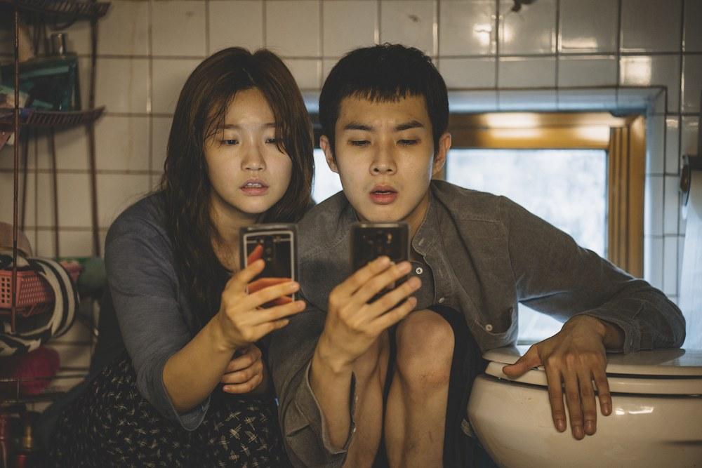 parasite-Ki-jung Kim So-dam Park and Ki-woo Park Woo-sik Choi in Parasite_rgb