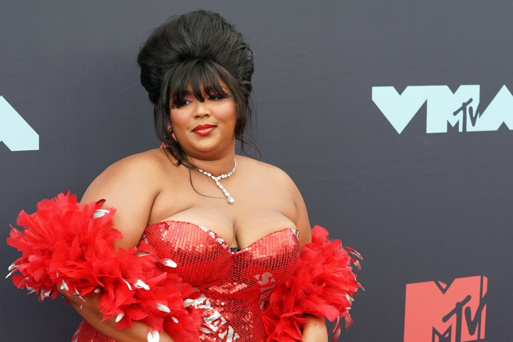 NEW JERSEY - AUGUST 26, 2019: Lizzo attends the MTV Video Music Awards at the Prudential Center on August 26, 2019, in Newark, New Jersey. (Shutterstock)