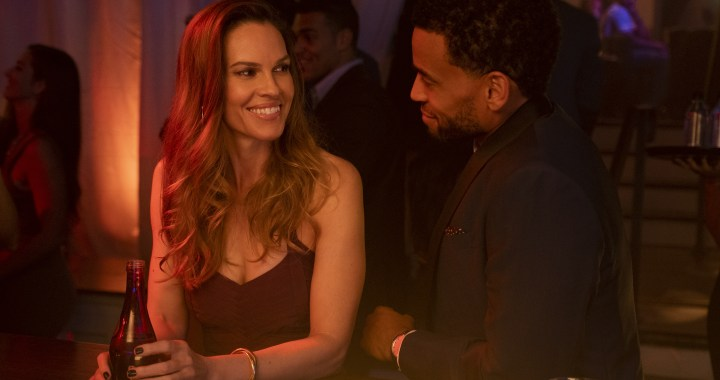 Hilary Swank, Michael Ealy on the set of FATALE. Photo By: Scott Everett White