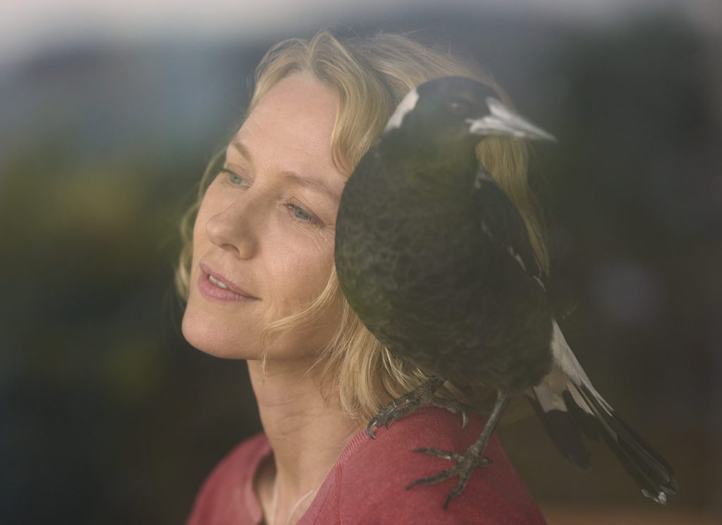 PENGUIN BLOOM (2021) Naomi Watts as Sam Bloom.  NETFLIX