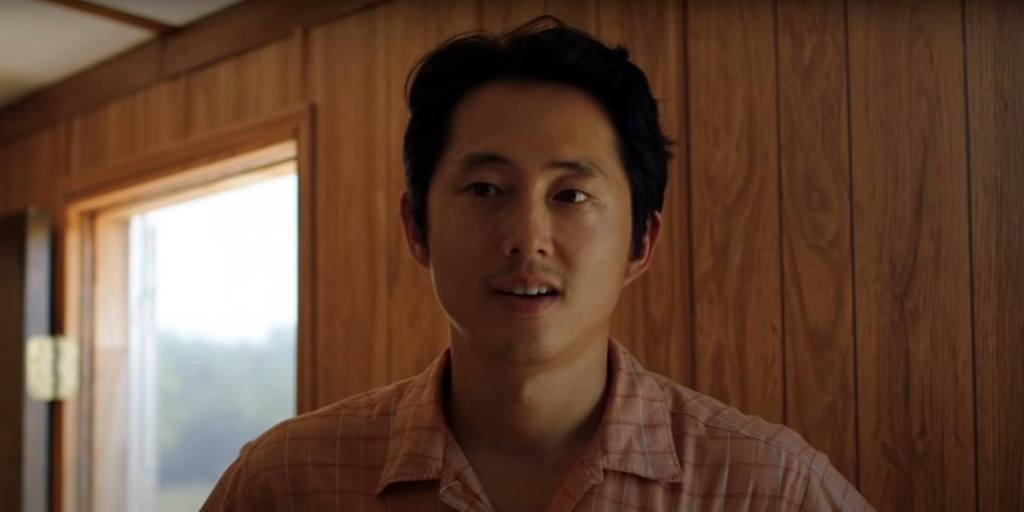 Steven Yeun in 'Minari'.