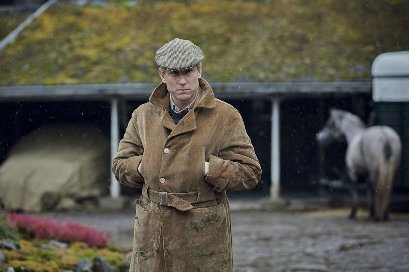 Picture shows: Prince Philip (TOBIAS MENZIES). Filming Location: Ardverikie Estate, Kinloch Laggan Newtonmore Inverness-shire