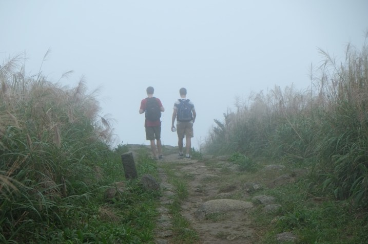 misty hike