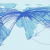 Map of OneWorld Global Destinations