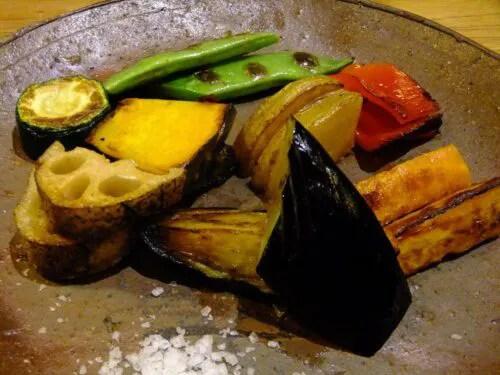 焼き野菜(有機)