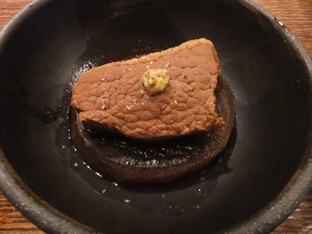 牛肉と大根のバーボン煮