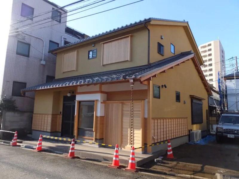 新しい建物