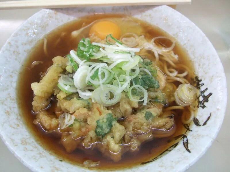 かき揚げ天ぷら(玉子付)