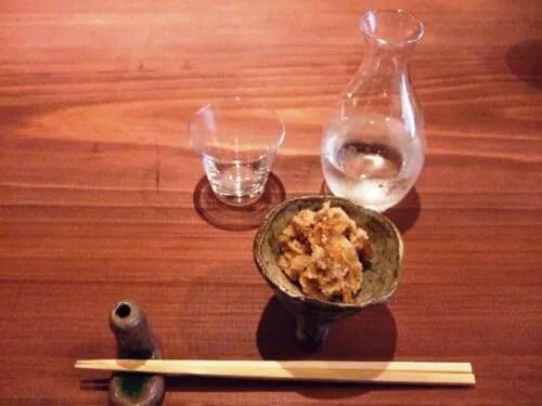 宝剣と、野菜味噌
