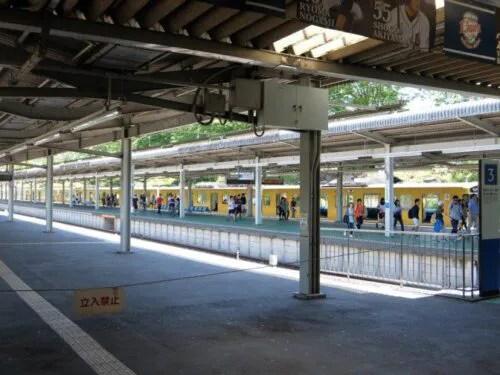 西武球場前駅は行き止まり駅