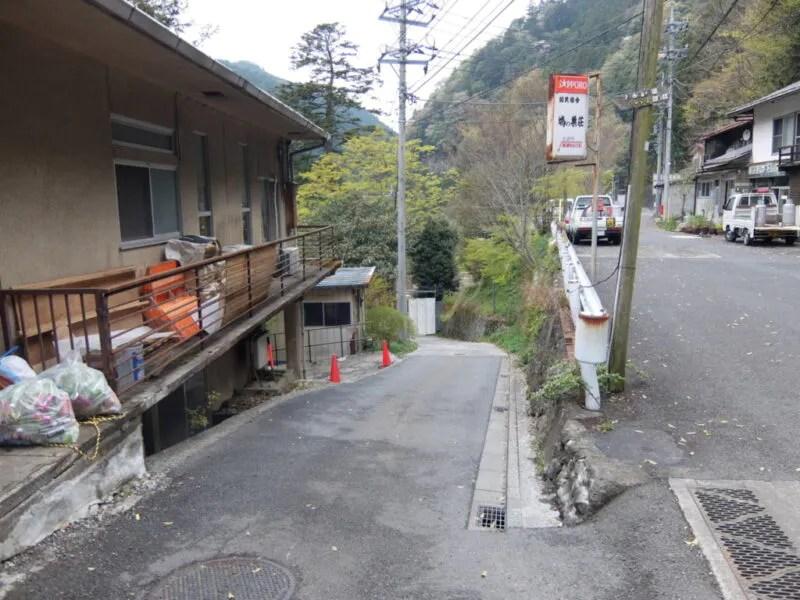 鳩ノ巣渓谷入口