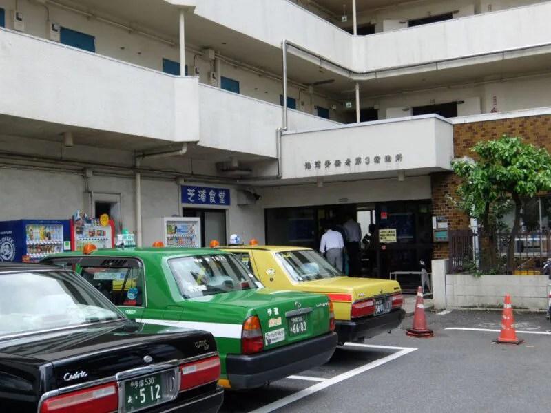 並ぶタクシー