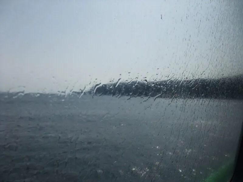 伊豆大島が見えて来た