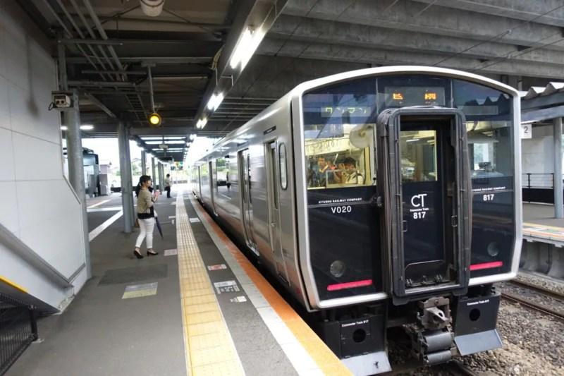 鳥栖駅行き長崎本線