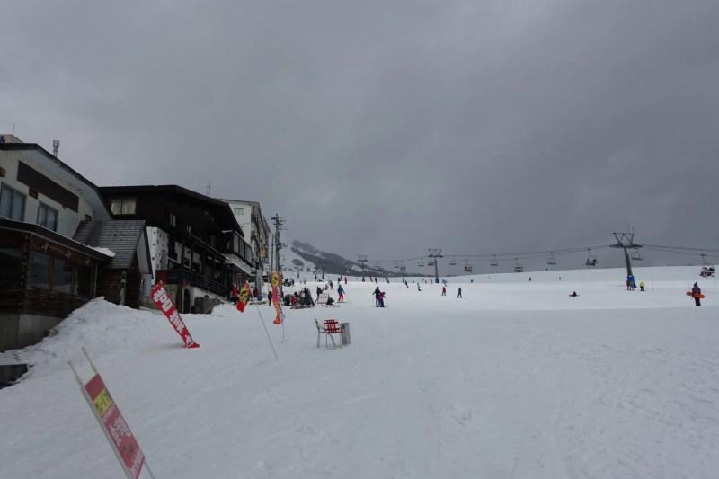 岩原スキー場ゲレンデ