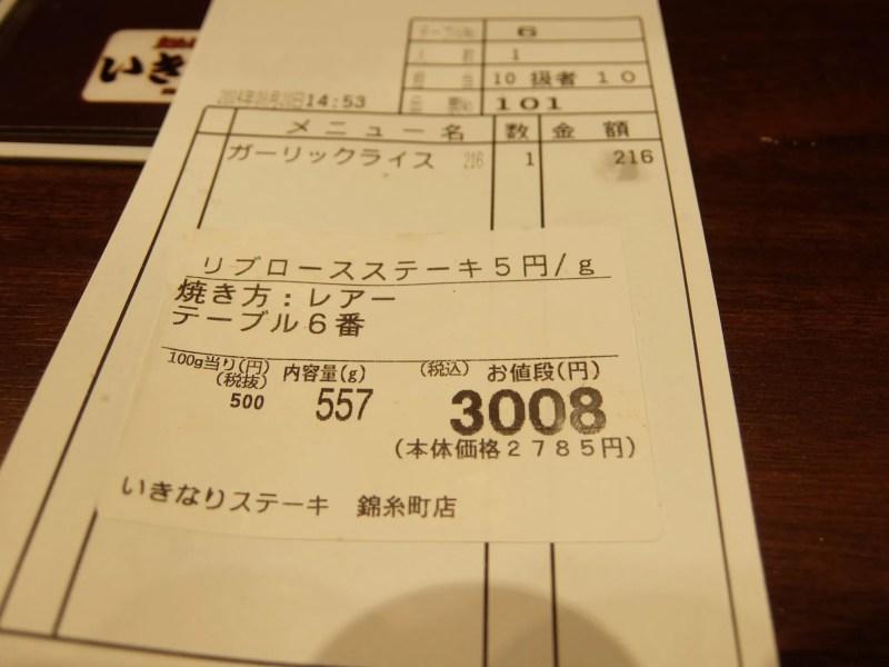 いきなり!ステーキ錦糸町店