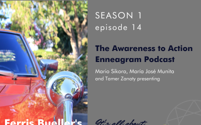 """S1E14: """"Ferris Bueller's Day Off"""" and the Ennea-Type Seven, Striving to Feel Excited"""