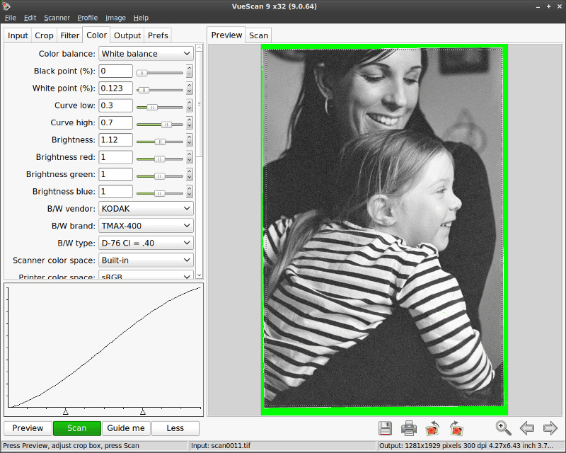 How to Scan B&W Negatives: VueScan (Intro) (2/2)