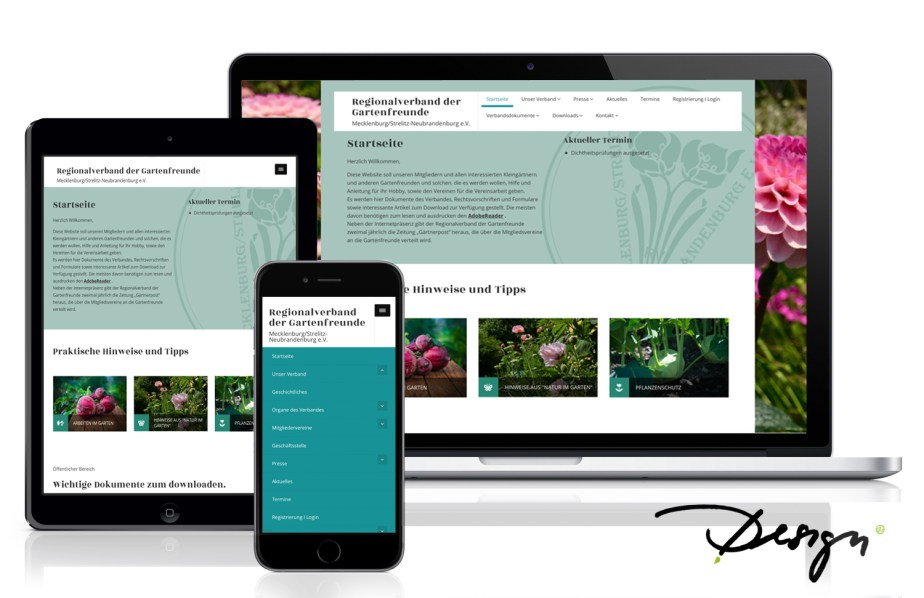 Responsives_Design_Webseiten_Neubrandenburg_Wiessmann_Gartenverband