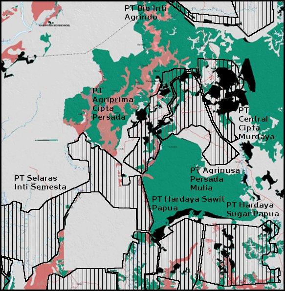 moratorium map changes