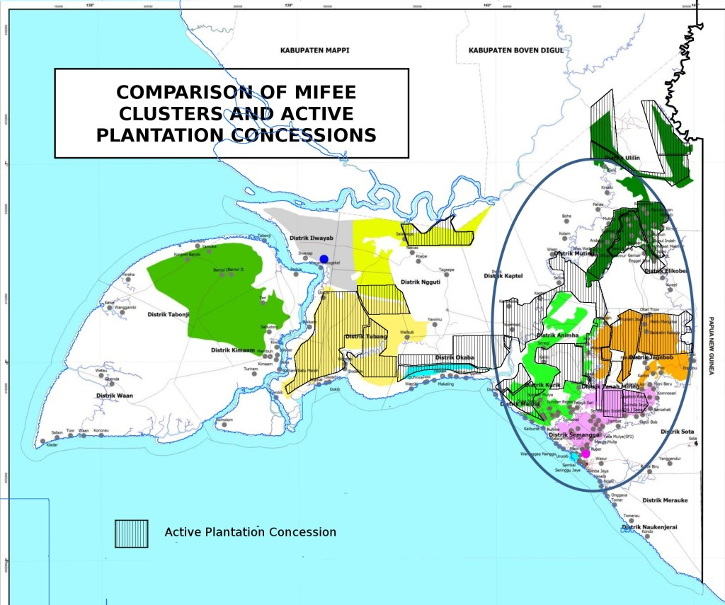 permits overlaid on clusters