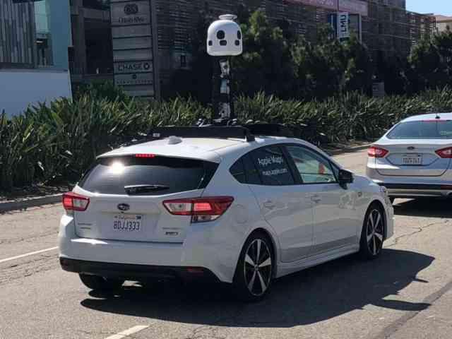 Les véhicules Apple Maps commenceront à sonder le Canada cet été