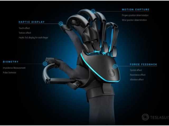 Le nouveau gant de Teslasuit alimenté par la RV vous permet de ressentir des objets physiques en réalité virtuelle