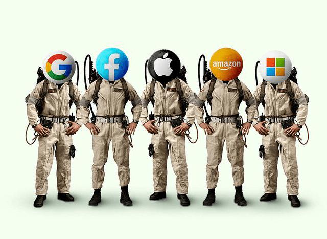 Les Big Techs : Au bon endroit au bon moment