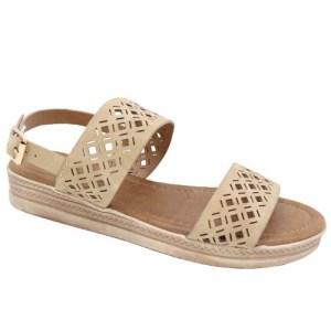 Flat Sandals Leisure Shoe Camel
