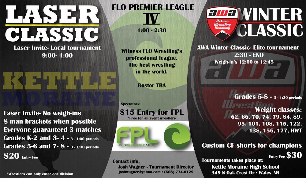 AWA Laser Classic, FLO Premiere League