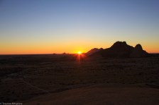 Sunsets in Namibia