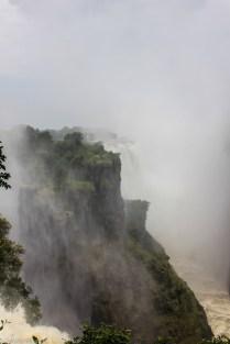 Victoria Falls (Zimbabwe side view)