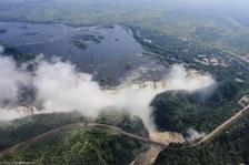 Victoria Falls (heli view)