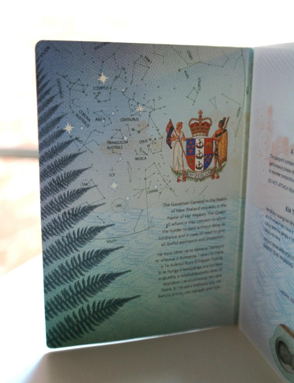 passport newzealand 1 - World's Most Coolest Passports