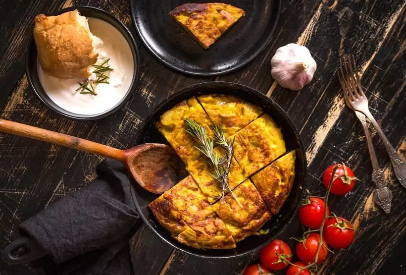 spain tortilla de patatas - Strolling Streets of Spain - A simple guide for first timers