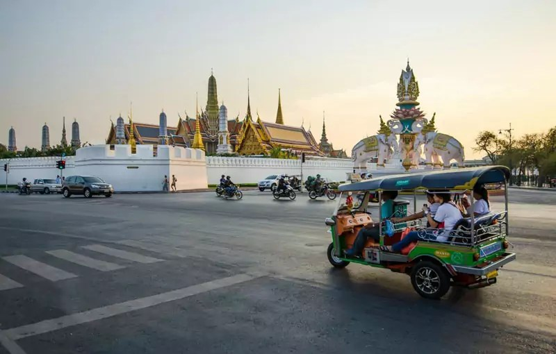 thailand tuktuk - Thailand - The most amazing travel destination for everyone