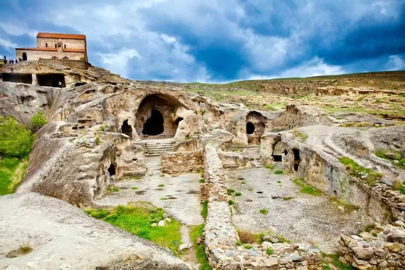 The cave town of Uplistsikhe - 8 Tourist Spots in Georgia that you Should Never Miss
