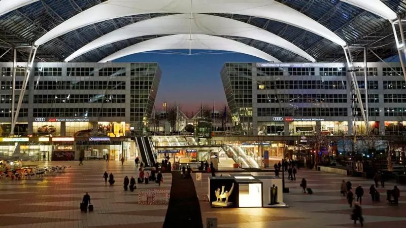 munich airport 3 - Most beautiful airports in the world
