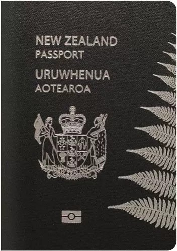newzealand passport - World's Most Coolest Passports