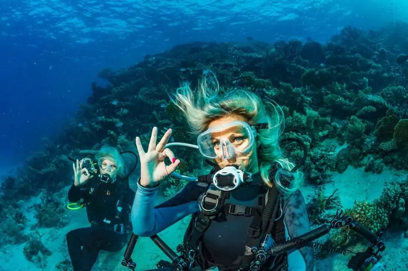 scuba diving - Adventure activities in Southeast Asia