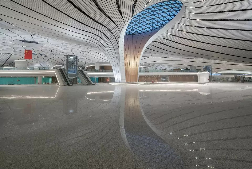 beijing airport 2 1 - Most beautiful airports in the world