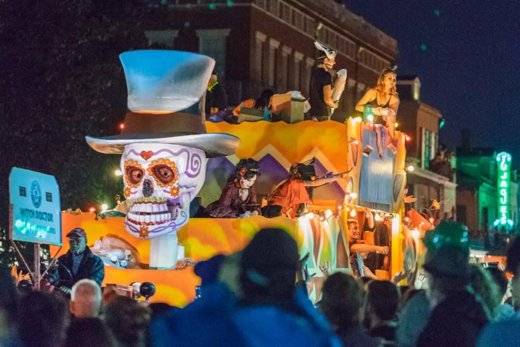 Krewe of Boo Halloween Parade New Orleans - 10 Best Places to Celebrate Halloween in the USA