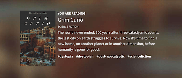Grim Curio on Wattpad - A post apocalyptic novel