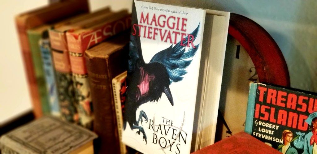On the book shelf | The Raven Boys book one of The Raven Cycle by Maggie Stiefvater