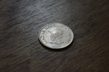 Dózsa György on the 20 Forint coin