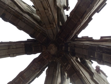 The top of the Monument.