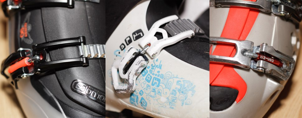 The XWave and the Quest buckle look identical a lot different from the two buckle system of the Kaos