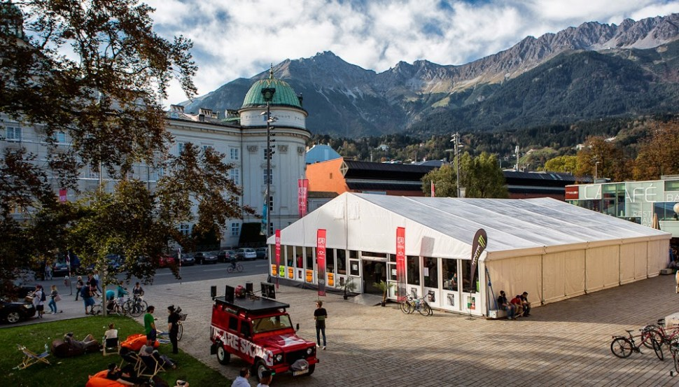 The Innsbruck venue is ready to go ! © iF3
